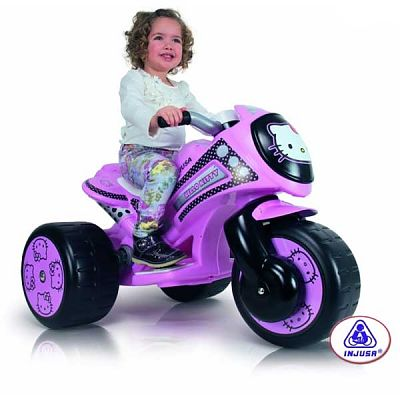 Injusa Tricicleta electrica Injusa Tribike Hello Kitty 6V