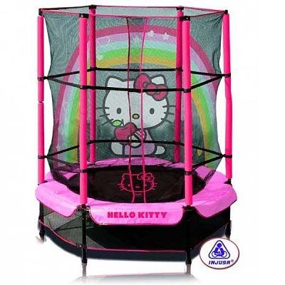 Injusa Trambulina copii 140 cm Hello Kitty