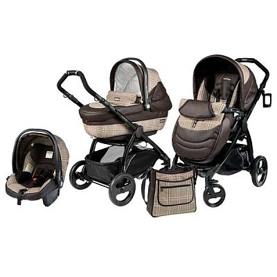 Peg Perego Carucior 3 in 1 Book Plus Completo