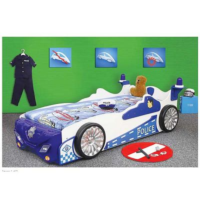 Plastiko Patut pentru copii si tineret Police