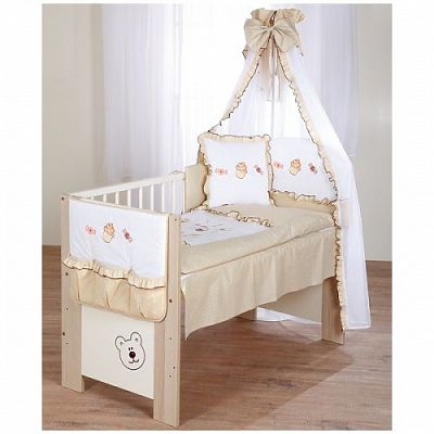 Klups Set lenjerie copii 5 piese Sweet baby