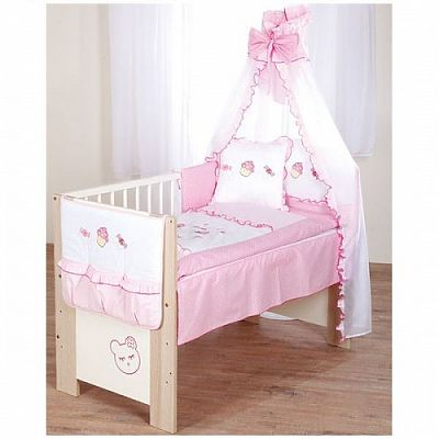 Klups Set lenjerie copii 6 piese Sweet Baby