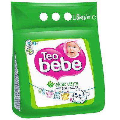 Teo Bebe Detergent pentru copii compact  cu Aloe Vera 1.5 Kg