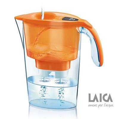 Laica Cana filtranta de apa Stream Orange
