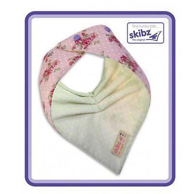Skibz Baveta/Esarfa bebe Doublez Vintage Rose/Dotty Green