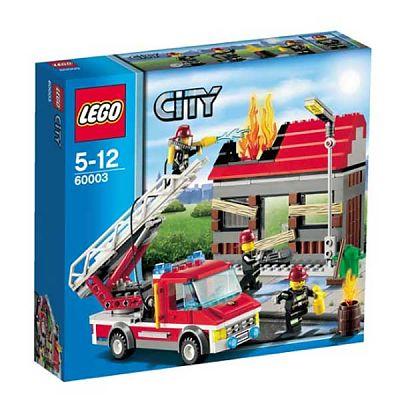 LEGO Jucarie CITY Alarma incendiu