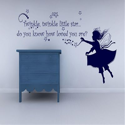 Stickere Little star Sticker dim 125cm x 70cm