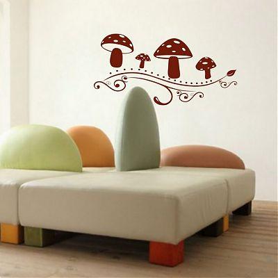 Stickere Ciupercutele fantastice dim 40cm x 80cm