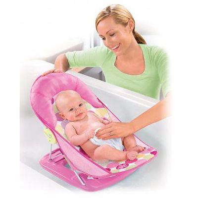SUMMER Infant Suport pentru baita Deluxe Splish Splash roz
