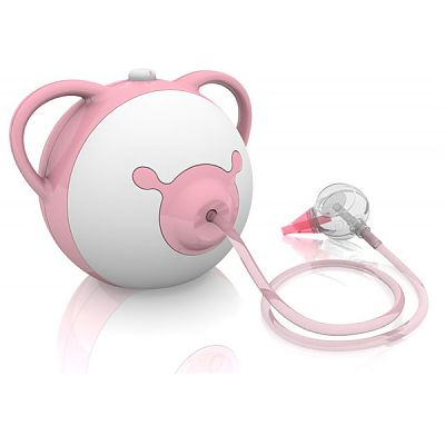 Nosiboo Aspirator nazal electric pink
