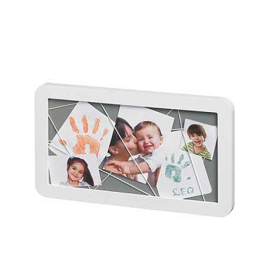 Baby Art Memory Board Alb - Gri