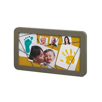 Baby Art Memory Board Taupe - Azure/Sun
