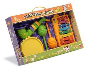 Reig Musicales Set xilofon, tamburina, saxofon si maracas