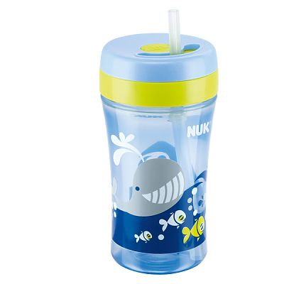 Nuk Canita Easy Learning FUN cu pai din silicon de 300 ml (+18L)
