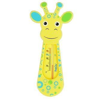 BabyOno Termometru de baie girafa