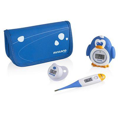Miniland baby Set termometre Miniland Thermokit Blue