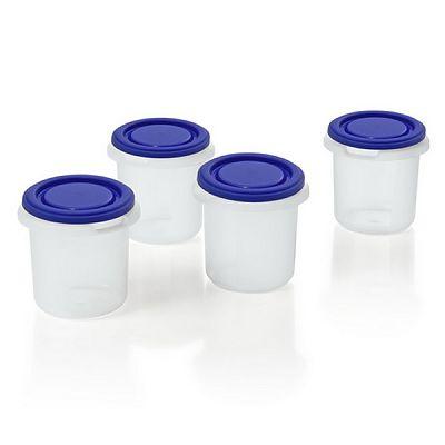 Miniland baby Set recipiente ermetice si geanta termoizolanta HermifreshSet 4 recipiente plastic BPA free Blue
