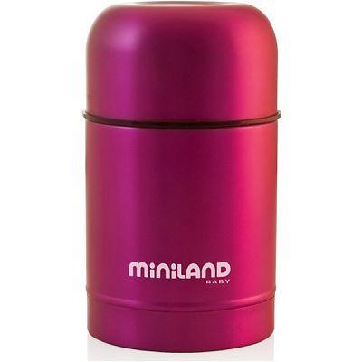 Miniland baby Termos mancare solida 600 ml Pink