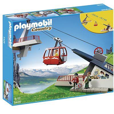 Playmobil Set constructii Alpine Telecabina Alpina