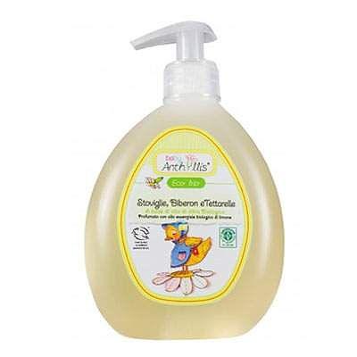 Pierpaoli Detergent lichid pentru spalarea veselei, biberoanelor, tetinelorDetergent solutie Eco Bio pentru ve