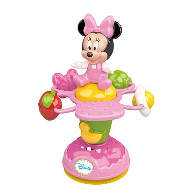 CLEMENTONI Baby Jucarie Floare Rotativa Minnie Mouse