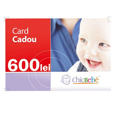 ChicBebe Card Cadou 600 Ron