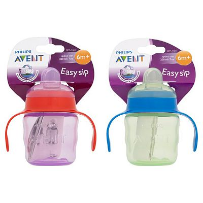 PHILIPS AVENT Cana cu manere de antrenament Easy Sip 200 ml