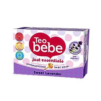 Teo Bebe Sapun solid cu lavanda Teo Bebe, 75 g
