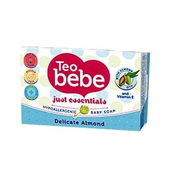 Teo Bebe Sapun solid cu migdale Teo Bebe, 75 g