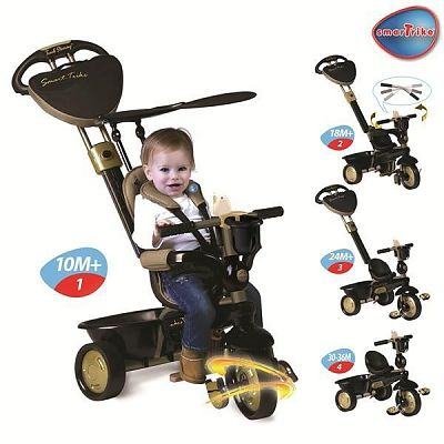 Smart Trike Tricicleta Smart Trike Dream 4 in 1 Gold