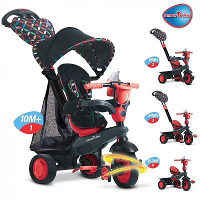 Smart Trike Tricicleta Smart Trike Boutique Red