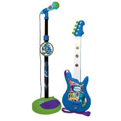 Reig Musicales Set chitara si microfon Monsters University