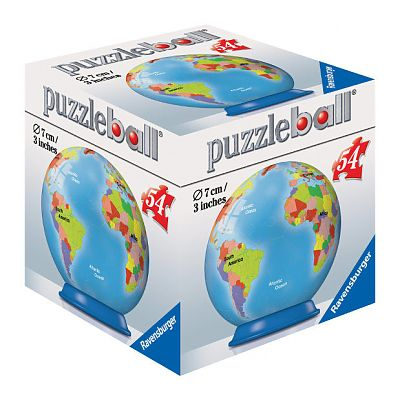 Ravensburger Puzzle 3D Globul Pamantesc, 54 piese