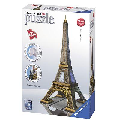 Ravensburger Puzzle 3D  Turnul Eiffel, 216 Piese