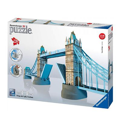 Ravensburger Puzzle 3D Tower Bridge, 216 Piese