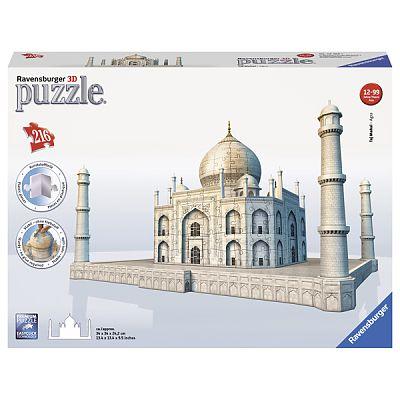 Ravensburger Puzzle 3D Taj Mahal, 216 Piese