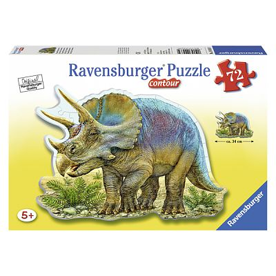 Ravensburger Puzzle Triceratop, 72 piese