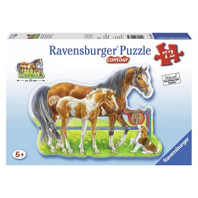 Ravensburger Puzzle Cai Veseli, 72 piese