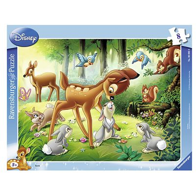 Ravensburger Puzzle Bambi, 8 piese