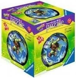 Ravensburger Puzzle  3D Testoasele Ninja, 54 piese