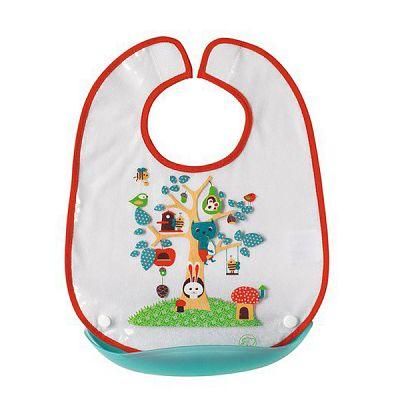 Bebe Confort- Mica Baveta Plastic Cu Buzunar Detasabil