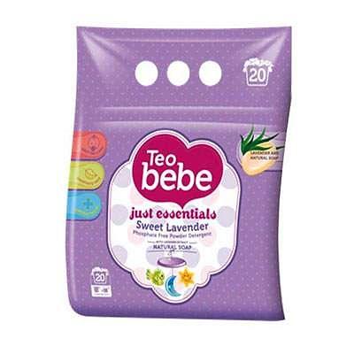 Teo Bebe Detergent pentru copii compact cu lavanda 1.5 Kg