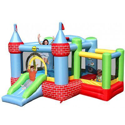 Happy Hop Spatiu de joaca gonflabil pentru sarit Castel cu loc de joaca