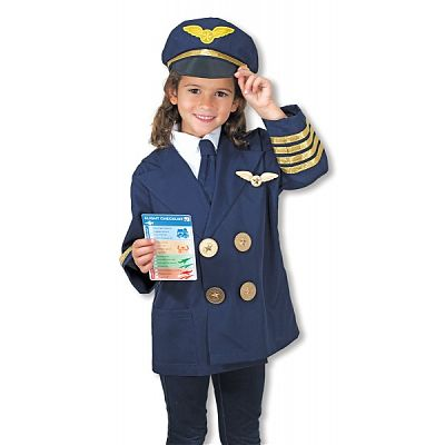 Melissa&Doug Costum Pilot de Avion Melissa and Doug