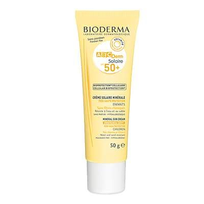 Bioderma Crema protectie solara ABCDerm Solaire SPF 50+, 50 g