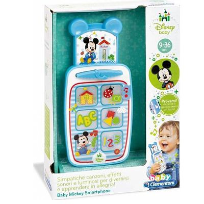 CLEMENTONI Baby Smartphone Mickey Mouse