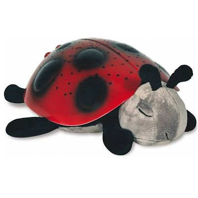 Cloud b Lampa de veghe Twilight Ladybug