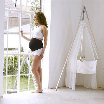 Cantaloop Centura suport pentru perioda prenatala Negru