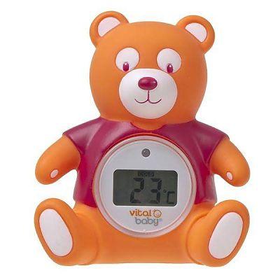 Vital Baby Termometru digital de baie si camera URSULET