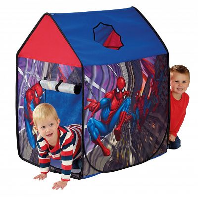 Worlds Apart Cort de joaca Spiderman Wendy House